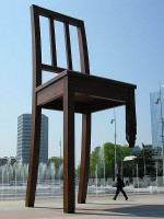 UN Geneva Broken Chair
