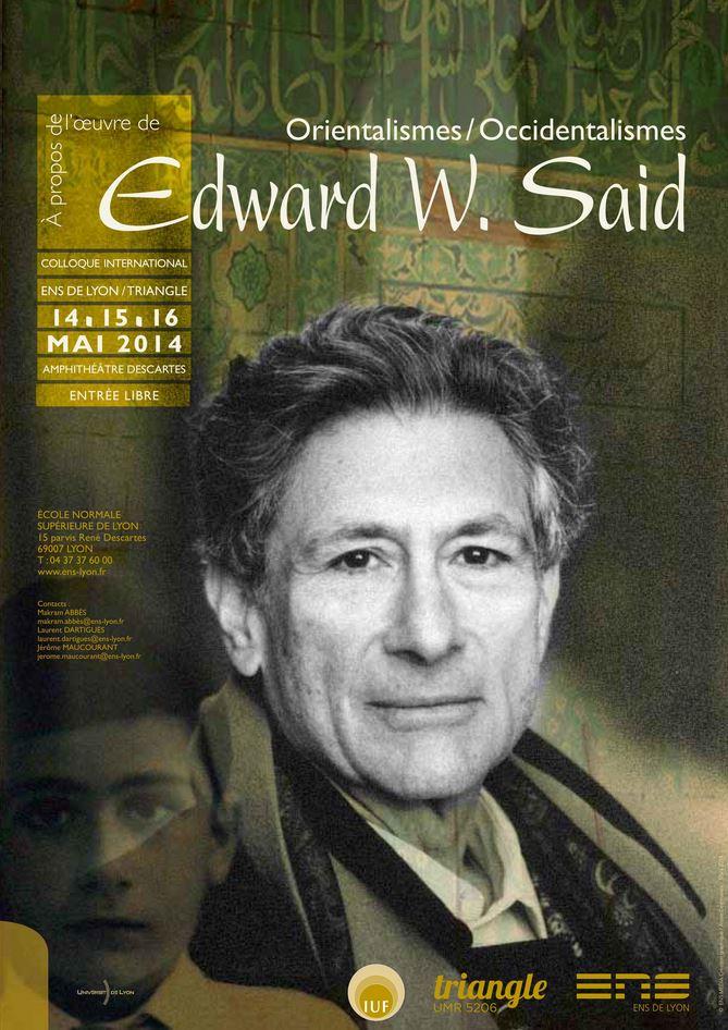 Colloque EdwardSaid